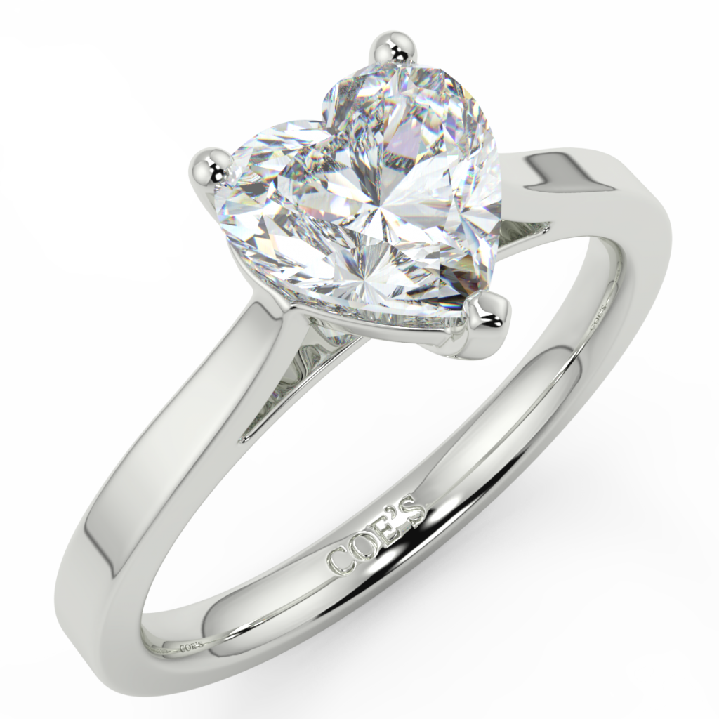 Dior Diamond Solitaire Engagement Rings