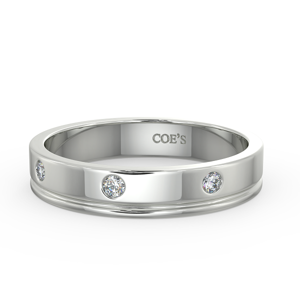 Gift Your Soul Mate A Diamond Wedding Band As Forever Memoir