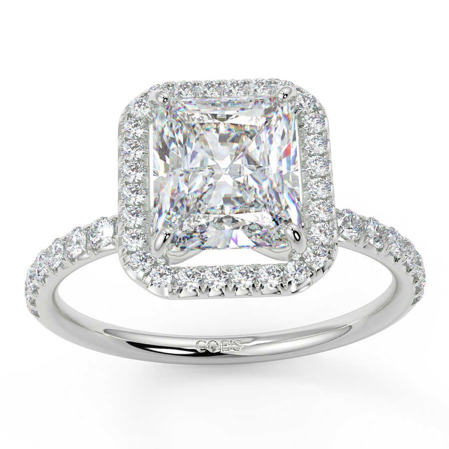 Halo Design Diamond Engagement Rings