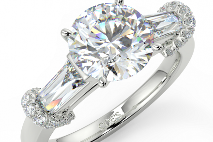 Venice Trilogy Diamond Engagement Rings