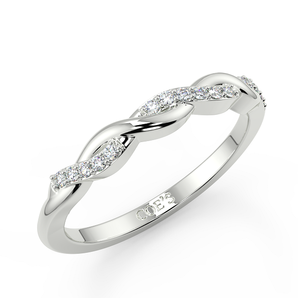 Blanche Eternity Diamond Wedding Rings