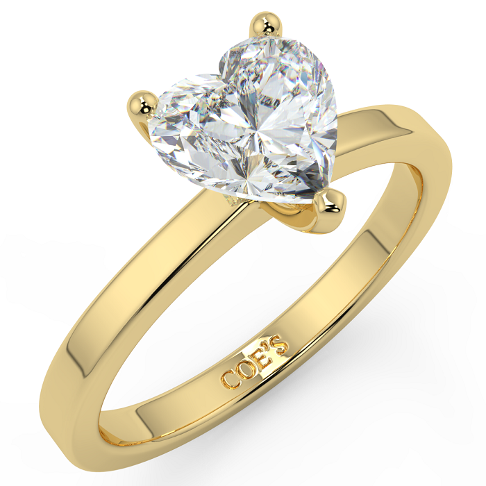 Delphine Yellow Gold Engagement ring