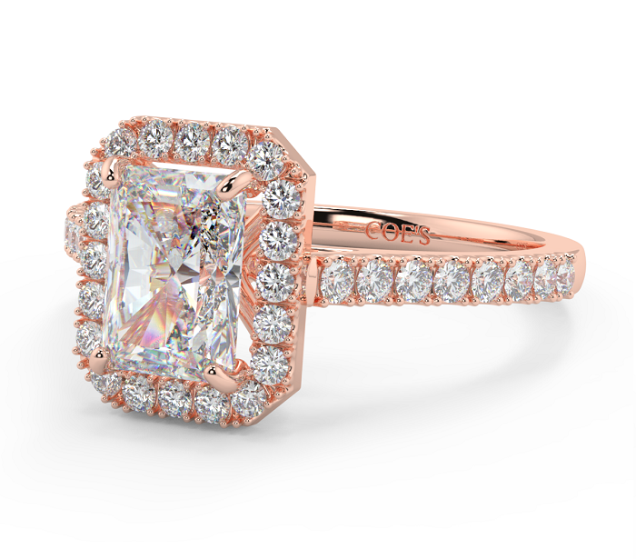 Matching Wedding Ring Sets with Rose Gold