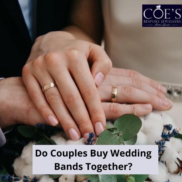 Do Couples Buy Wedding Bands Together